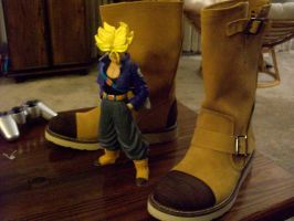 Trunks Cosplay Boots by Rider4Z