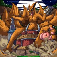 Return of Kurama by RenaAyama