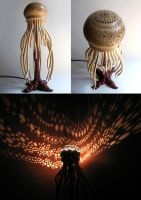 Medusa Lamp by HouseOfLostPlay
