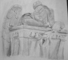 Weeping Angel by RaindropsOnRoses21
