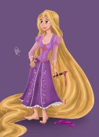 Rapunzel by juliajm15