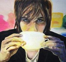 Mark Foster Painting by Kirakatasha