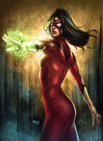 Spiderwoman by KGanArt