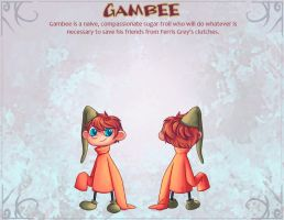 Gambee Character Sheet by Paperwick