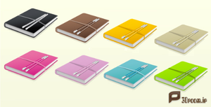 8-Vector-Hardcover-Journals by p30room