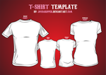 Vector T-shirt Template by JovDaRipper