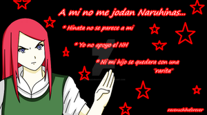 Anti Naruhina ~ Kushina A mi No Me Jodan by ravenuchihaforever