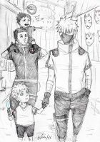 reaching understanding grounds -babysitter Kakashi by Sanzo-Sinclaire