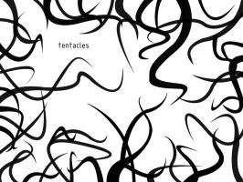 tentacles brushes by Brownus