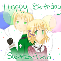 HAPPY BIRTHDAY, SWITZERLAND by xEternalStar
