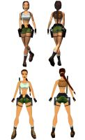 Lara Croft: Pacific Ocean by TanyaCroft