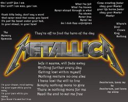 Metallica by LetxMexFall