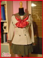Rei Hino school Uniform by Ivycosplay