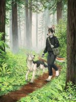 Through the Forest by KaceyM