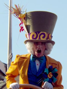 Disney World: The Mad Mad Hatter by CanisCamera