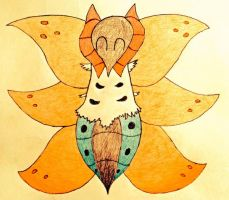 Request - Volcarona by MysteryBeliever-KJB