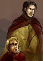 No 19 Bronn the Sellsword by kethryn