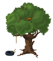 Huge Tree For Sanalika by gelerli