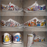 Custom Pokemon Converse by Gaani-Hatchinto