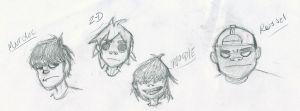 Gorillaz by superfreak333