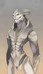 Naked Turian: Lux by Bloomseed