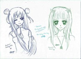 Sketch Requests01 by Azuyasai