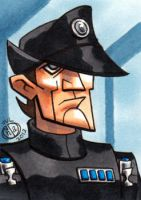 Imperial Officer Sketch Card by Chad73