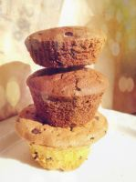 Muffin Tower by hermio