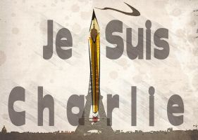 Je Suis Charlie by Hera-of-Stockholm