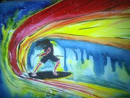 Stand-up-surfer-andrew-edhouse by teatreaart