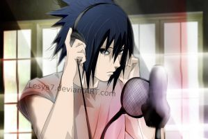 Sasuke: Music... by Lesya7