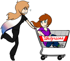 CO - Shopping cart thieves by Skoryx