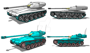AMX13 design revision by Scryer117