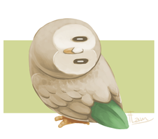 Rowlet by FlamSlade