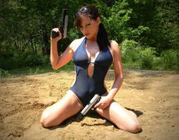 Tomb Raider Monokini #3 by CosplayCandy