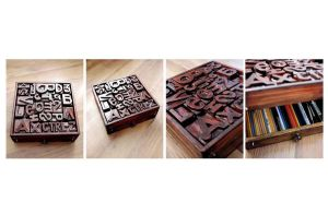 Handmade Wooden Case by aniadz