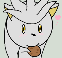 Silver love his cookie. by Cool-Mojo-Sis