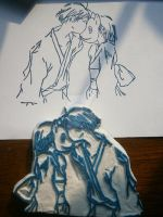 Hotarubi no Mori e Rubber Stamp by XluciferXX