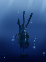 Eternal rest under water by rocioDIBU