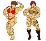 Priss/Cover Girl posedown by Dairugger