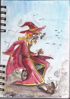 Rincewind STOP! by icelandicghost