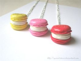 New macarons by quaint-dame