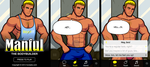 Manful: The Bodybuilder by humbuged