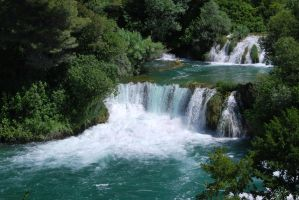 Krka falls stock II by TheTundraGhost-stock