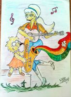Lisa and Lurleen duet by AlBrolz