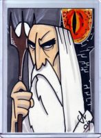 the lord of the rings: saruman by LanceSawyer