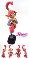 Rayah the Genie Sculpture by FlintofMother3
