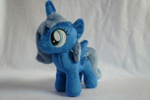 Woona / Filly Princess Luna Plush by navkaze