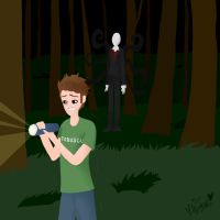 Toby Plays Slender by Burnt-X3