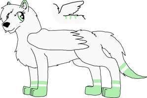 Random Wolf That Might Be Zalaina's Angelic Form by Always-Optimistic